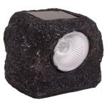 Solar-Lampe Steinquader Solarlichter LED-Leuchtmittel Solarstein Dekolampe NEU