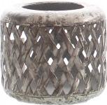 DRAGIMEX WINDLICHT Teelichthalter / 61639 Antik 13, 5x11, 5cm