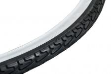Filmer DECKE Trekking Fahrraddecken 45311 28x1 3/8 X1 5/8 S/w