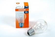 OSRAM Glühbirne klar 40W E27