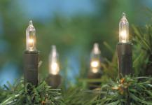 MINILICHTERKETTE Mini-Lichterkette 80 Tlg Klar 132742c