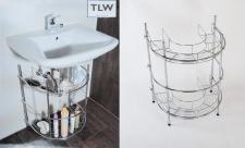 TLW direkt Waschtisch-Regal Badregal