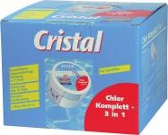 "Cristal CHLOR Komplett ,, 3 in 1"" 99231 3 1 0, 4kg"