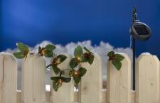 LED Solar-Lichterkette Ilex Stechpalme Girlande Weihnachtsdeko Balkondeko