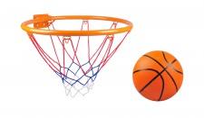 Basketball-Set Basketballkorb Basketballnetz Basketballring Ballpumpe Ball