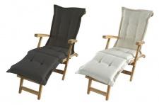 Teak Deckchair Auflage Liegenauflage Polsterauflage Stuhlkissen Polster 190x58cm