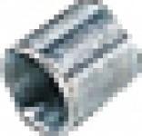 puteus STAHLMUFFE 22004-E Verz.1 1/4 22004e