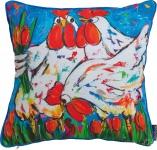 """MADISON KISSEN Zierkissen ,, Pillow"""" PIL7G122 Pillow 50x50 Cm Huhn"""