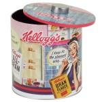 Nostalgie Kellogg's Metalldose Vorratsdose Cornflakes Dosen Retro Blechbüchse