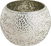 GLASWINDL Glaswindlicht mit Mosaik 21701242 Rund 7x6cm