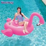 Bestway Schwimminsel Flamingo Badeinsel Schwimmliege Badeliege Luftmatratze Pool