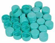 100x Deckel für PETlinge verschiedene Farben