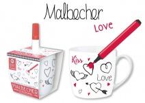 """BON BOX by Michael Fischer BECHER DIY ,, Love"""" 59445 Love Mit Stift"""