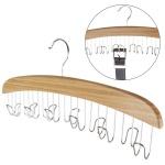 Bambus Gürtelbügel für 12 Gürtel