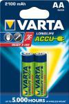"""Varta Akkubatterien ,, ready 2 use"""" 56706-101-402 Accu-batt.mignon"""