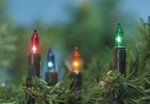 MINILICHTERKETTE Mini-Lichterkette 80 Tlg Bunt 132743c