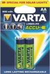 "Varta Akkubatterien ,, Rechargeable Solar Accu"" 56736-101-402 Accu-batt.aa Long56736-101-402"