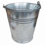 Zinkeimer 12L Metalleimer Wassereimer Blecheimer Eimer Blumenkübel Deko Garten