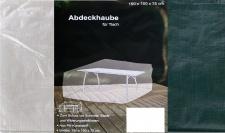 Abdeckhaube für Terrassentisch 150x100x75cm Möbelabdeckung eckig