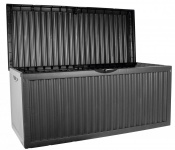 Gartenkissenbox 120x52x54cm 350L Anthrazit