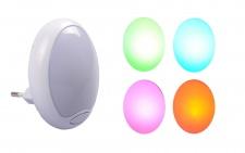 LED Nachtlicht mit Farbwechsler für Steckdose Nachtlampe Schlummerlicht Deko
