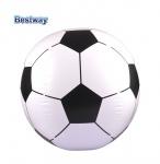 Bestway Fußball 84cm Strandball Wasserball Beachball Fussball Ball aufblasbar