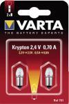 Varta Krypton-Glühlampen 751 Kryptonla.f680/2/3