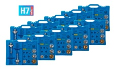10x Auto-Ersatzlampen-Koffer H7 Scheinwerfer Bremslicht Blinklicht Rücklicht