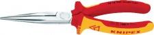 Knipex FLACHRUNDZANGE / Storchenschnabelzange 2616 Vde Gera 200mm