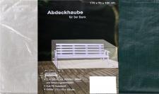 Abdeckhaube 3er Bank 170x70x100cm Regenplane Schutzhülle Möbelschutz Abdeckplane