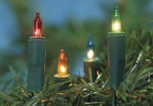 MINILICHTERKETTE Mini-Lichterkette 20 Tlg Bunt 132708c