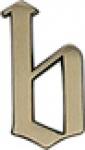 METAFRANC HAUSNUMMERN-MESS-BR. Hausnummer 422027 85mm 422027-b-
