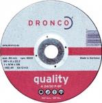 DRONCO SCHRUPPSCHEIBE Schruppscheiben für Metall 3126020 125 Mm