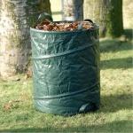 Garten Abfallbehälter klappbar Laubsack Rasensack Abfallsack Gartenabfallsack
