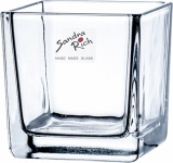 "Sandra Rich WINDLICHT ,, Cube"" 95-95-99 10cm Cube"