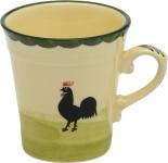 zeller keramik OBERE Kaffeeobere 0010/1-0501 Hoch Ha+henne