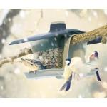 Vogelfutterstation Vogelfutterspender Futterhaus Futterspender Futterstation
