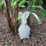 Deko-Osterhase aus Beton 21cm Gartendeko Tischdeko Terrasse Ostern Hasenfigur