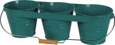 Siena Garden BLUMENTOPF Blumentopf-Set 377073 3er Petrol 377073r