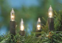 MINILICHTERKETTE Mini-Lichterkette 120 Tlg Klar132745c