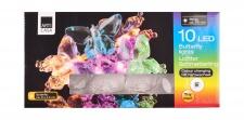 LED-Lichterkette Schmetterling mit Farbwechsler Dekolicht Party Beleuchtung