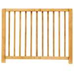 Kinder-Sicherheitsgitter Treppengitter Türschutzgitter Absperrgitter Holz natur
