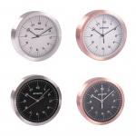 Polaroid Alu-Wanduhr 15cm Quartz-Uhrwerk Küchenuhr Wohnzimmeruhr Baduhr Bürouhr