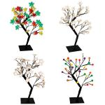 LED Lichterbaum 55cm Weihnachtsbaum Dekobaum Leuchtbaum Tannenbaum Fensterdeko