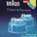 """BRAUN Reinigungskartusche ,, Clean&Charge"""" 658016 4+1"""