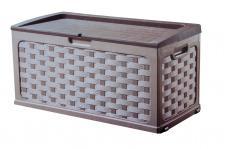 Starplast Kissenbox Rattanoptik Auflagenbox Gartenbox Gartentruhe Gartenmöbel