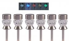 Solarleuchten Diamant Farbwechsler 6er-Set Solarlampen Gartenlampe Solarleuchte
