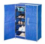 Schuh-Stoffschrank blau Schuhschrank Schuhablage Schuhregal Schuhständer Camping