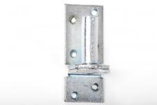 Kloben elektrisch verzinkt D 1, 16 mm für Ladenband Plattenhaken Haken
