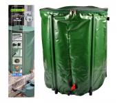 Regentonne 200L faltbar Wassertonne Wassertank Regenfass Wasserbehälter Tonne